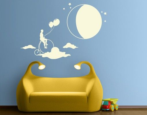 Wandtattoo Babyzimmer No.MW95 Hoch Hinaus