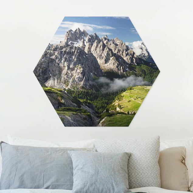 Hexagon Bild Forex - Italienische Alpen