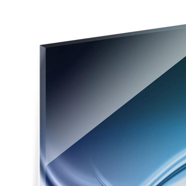 Glas Spritzschutz - Abstract Design - Querformat - 4:3