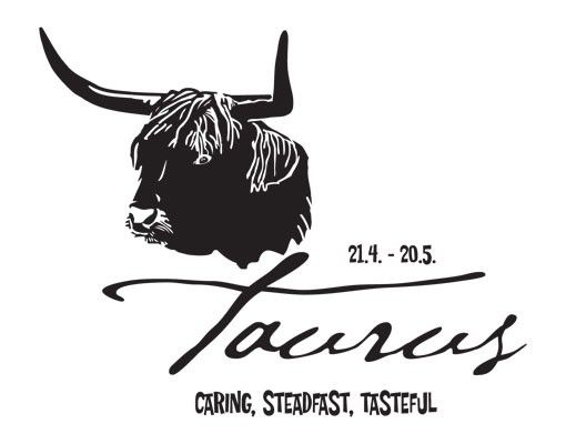 Wandtattoo No.UL759 Zodiac Sign Taurus