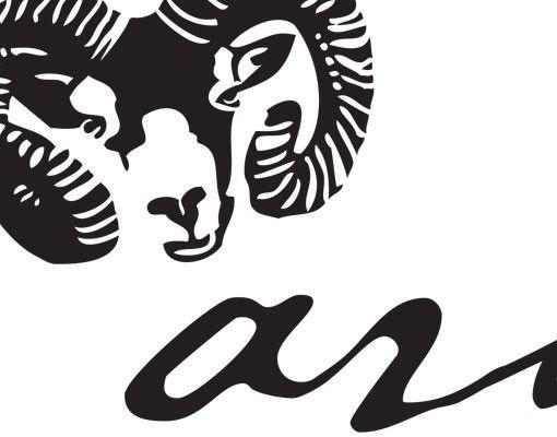 Wandtattoo No.UL762 Zodiac Sign Aries