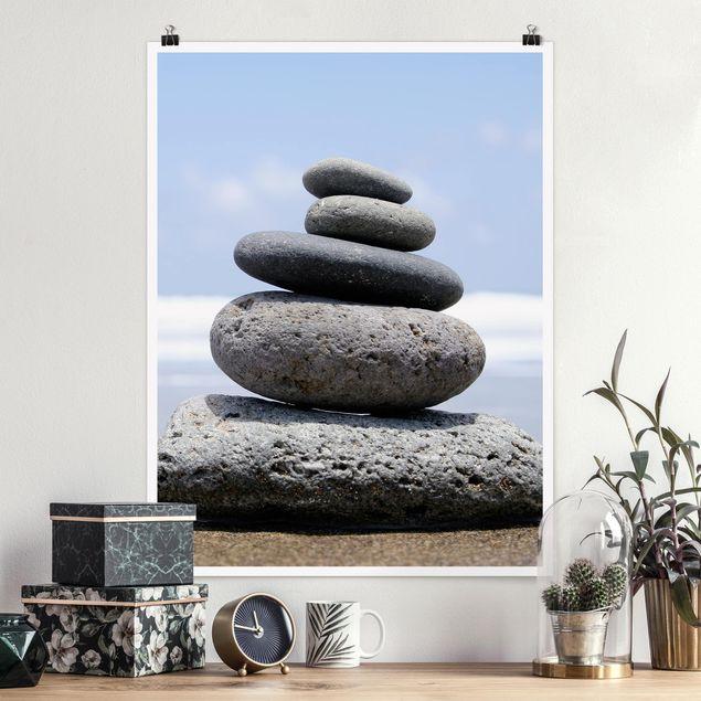 Poster - Sand Stones - Hochformat 3:4