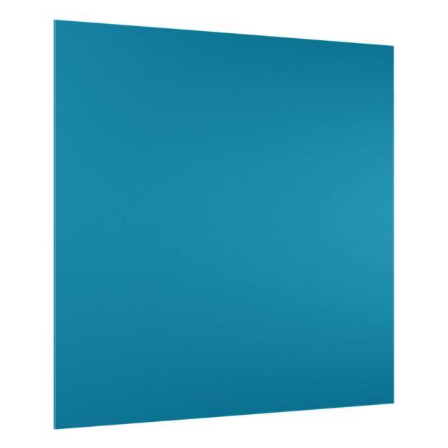 Glas Spritzschutz - Petrol - Quadrat - 1:1