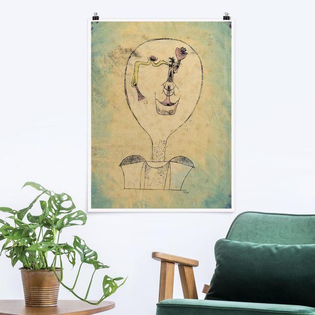 Poster - Paul Klee - Die Knospe - Hochformat 3:4