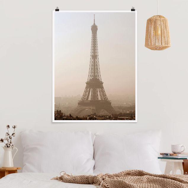 Poster - Tour Eiffel - Hochformat 3:4