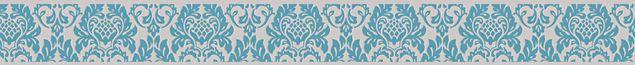 A.S. Création Mustertapete Only Borders 9 in Beige, Blau, Grün