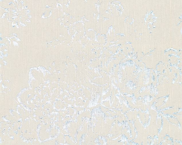 Architects Paper Unitapete Metallic Silk in Grau, Metallic
