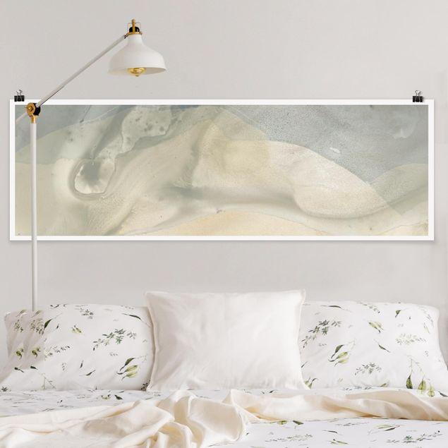 Poster - Ozean und Wüste IV - Panorama Querformat