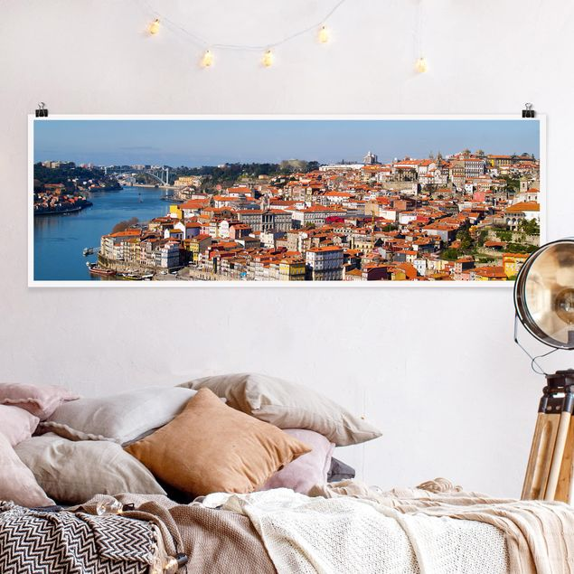 Poster - Coast of Portugal - Panorama Querformat