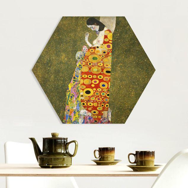 Hexagon Bild Forex - Gustav Klimt - Die Hoffnung II
