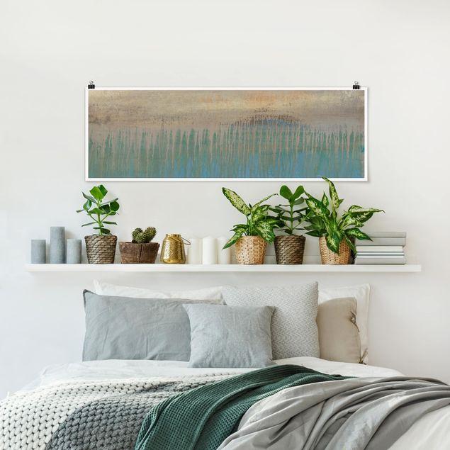 Poster - Bestimmungsort - Panorama Querformat
