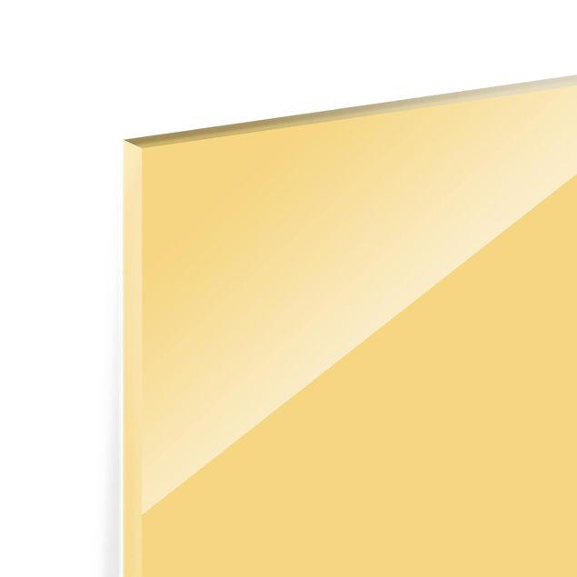 Glas Spritzschutz - Honig - Querformat - 4:3