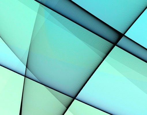 Fensterfolie - XXL Fensterbild Evolution - Fenster Sichtschutz