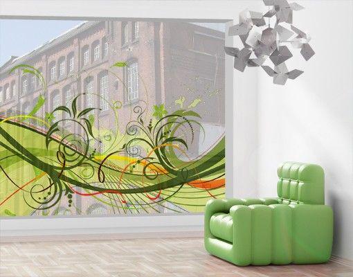 Fensterfolie - XXL Fensterbild September - Fenster Sichtschutz