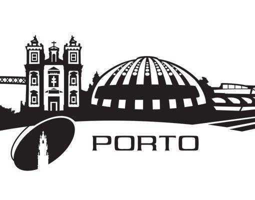 Wandtattoo Skyline No.MW119 Skyline Porto