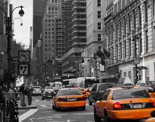 Fensterfolie - XXL Fensterbild New York, New York! - Fenster Sichtschutz