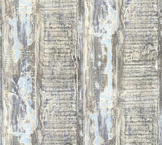 A.S. Création Strukturtapete Best of Wood`n Stone 2nd Edition in Beige, Blau, Braun