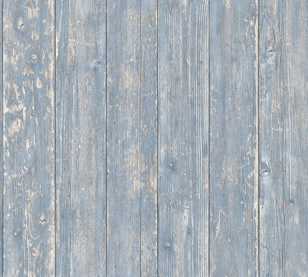 A.S. Création Mustertapete Authentic Walls 2 in Blau, Beige