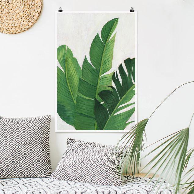 Poster - Lieblingspflanzen - Banane - Hochformat 3:2