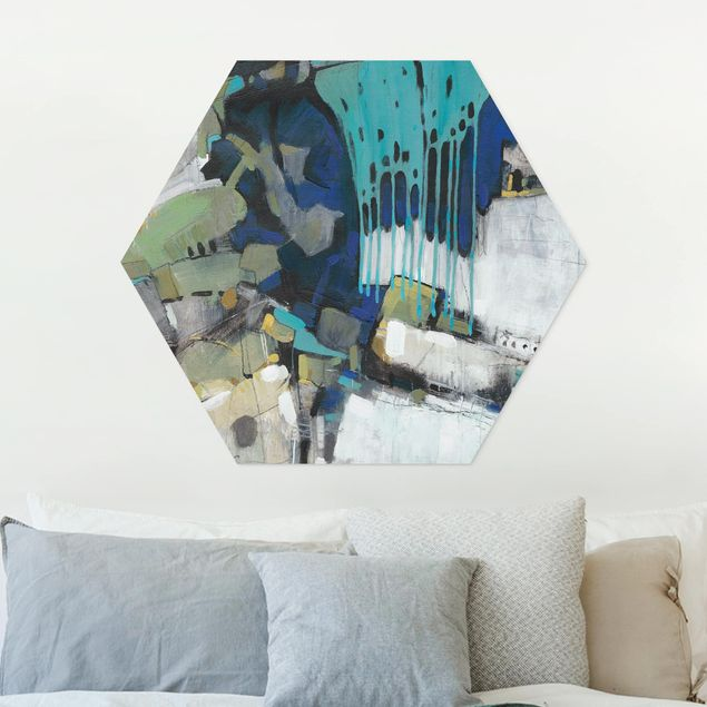 Hexagon Bild Forex - Trennung Türkis I