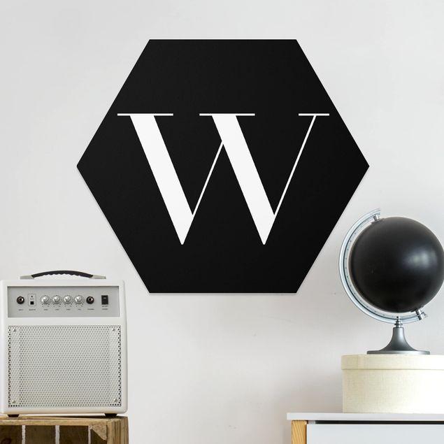 Hexagon Bild Forex - Buchstabe Serif Schwarz W