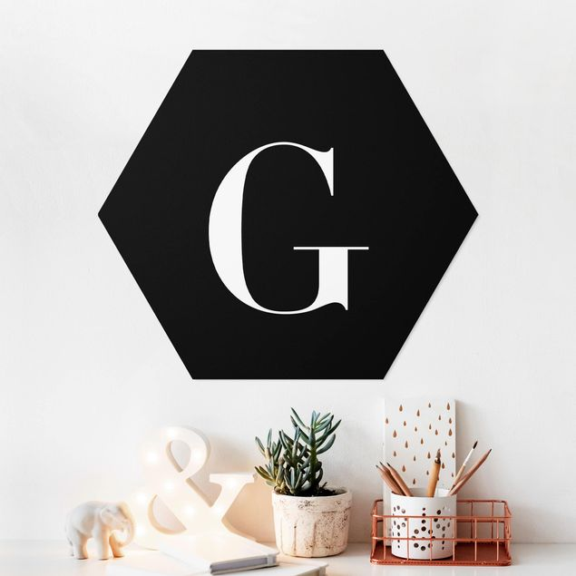 Hexagon Bild Forex - Buchstabe Serif Schwarz G