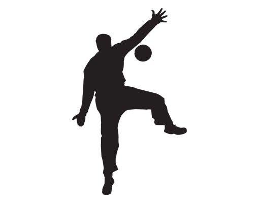 Wandtattoo No.UL909 Handballtorwart