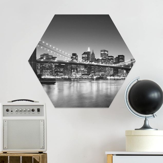 Hexagon Bild Forex - Brooklyn Brücke in New York II