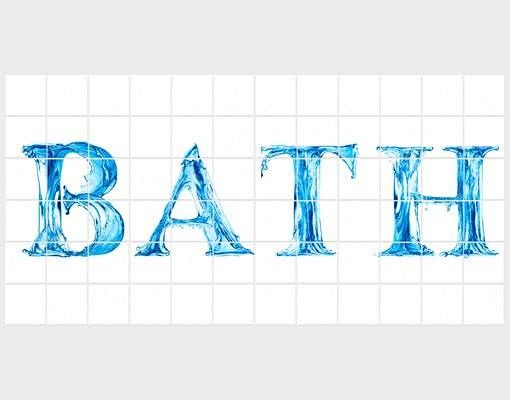Fliesenbild - Bath III