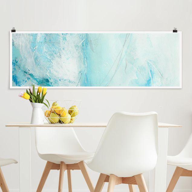 Poster - Eismeer II - Panorama Querformat