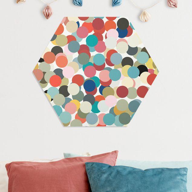Hexagon Bild Forex - Konfetti