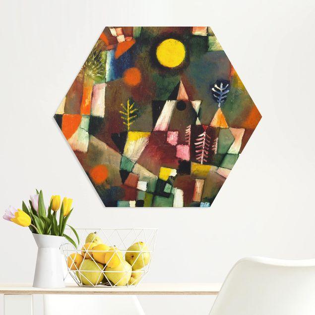 Hexagon Bild Forex - Paul Klee - Der Vollmond