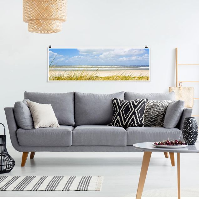 Poster - An der Nordseeküste - Panorama Querformat