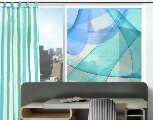 Fensterfolie - Sichtschutz Fenster Highway To The Sky - Fensterbilder