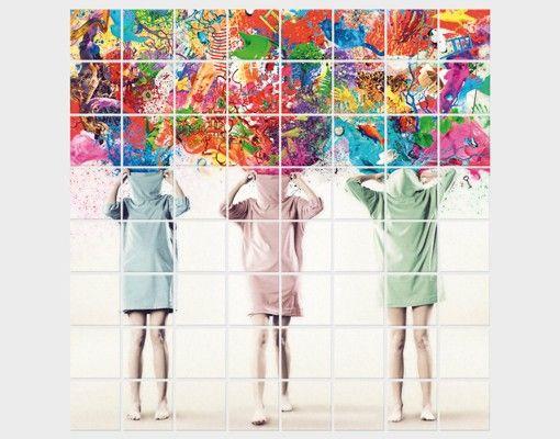 Fliesenbild - Brain Explosions
