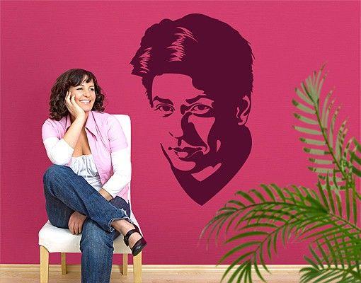 Wandtattoo No.EV79 Shah Rukh Khan