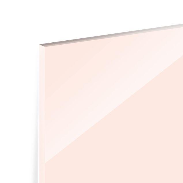Glas Spritzschutz - Perlmutt - Querformat - 4:3