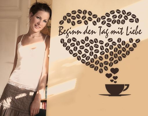 Wandtattoo Sprüche - Wandtattoo Namen No.PP5 Wunschtext Lovely Morning