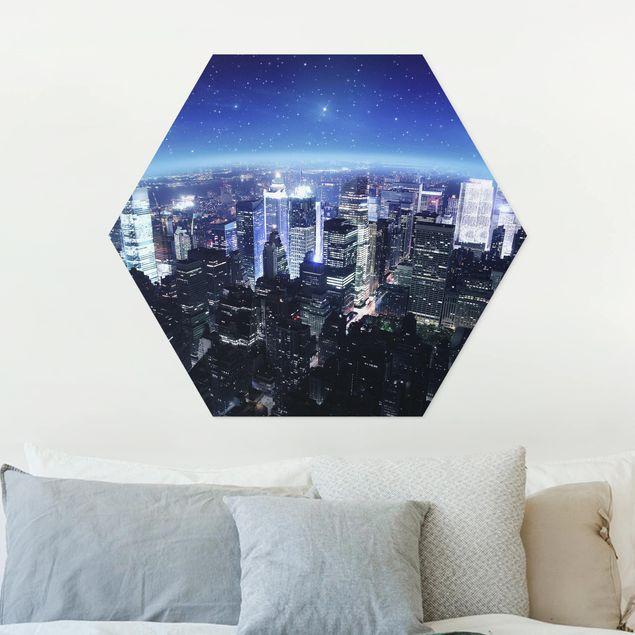 Hexagon Bild Forex - Illuminated New York