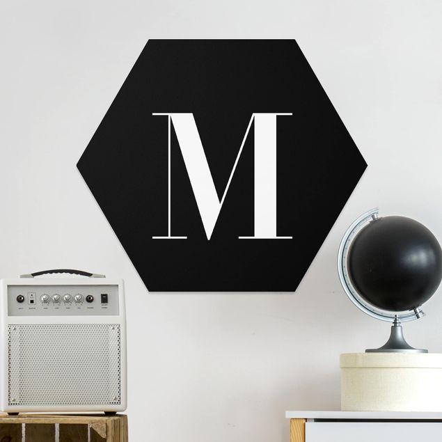 Hexagon Bild Forex - Buchstabe Serif Schwarz M