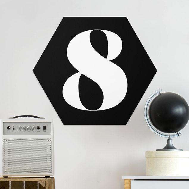 Hexagon Bild Forex - Antiqua Zahl 8