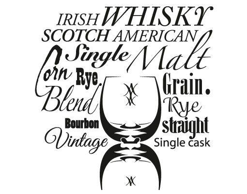 Wandtattoo No.EV92 Whiskey Words