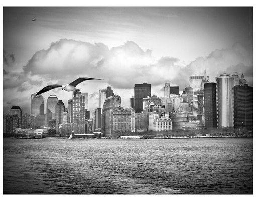 Fensterfolie - Sichtschutz Fenster No.YK1 New York II - Fensterbilder
