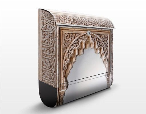 Wandbriefkasten - Alhambra - Briefkasten Beige