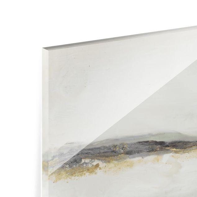 Glas Spritzschutz - Fröhlicher Horizont II - Querformat - 4:3