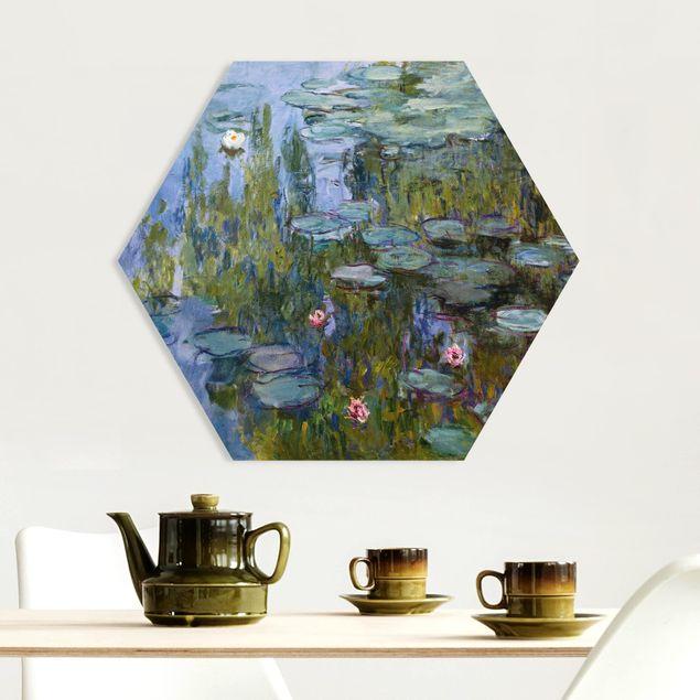 Hexagon Bild Forex - Claude Monet - Seerosen (Nympheas)