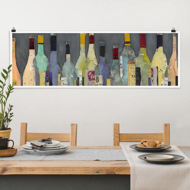 Poster - Entkorkt - Spirituosen - Panorama Querformat