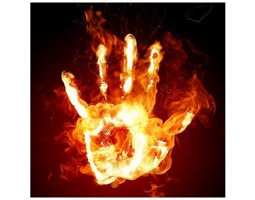 Beistelltisch - Flammende Identität
