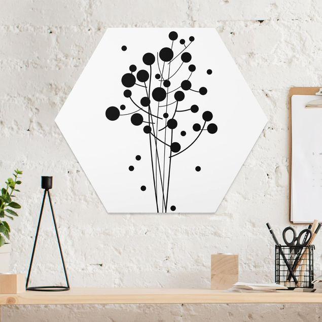 Hexagon Bild Forex - No.SF679 Artflower