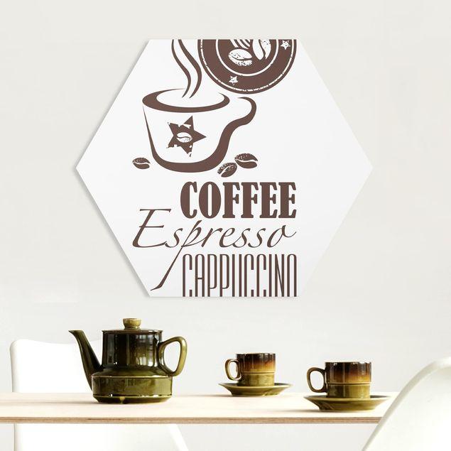 Hexagon Bild Forex - No.SF598 Coffee 5